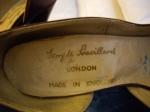 shoe label