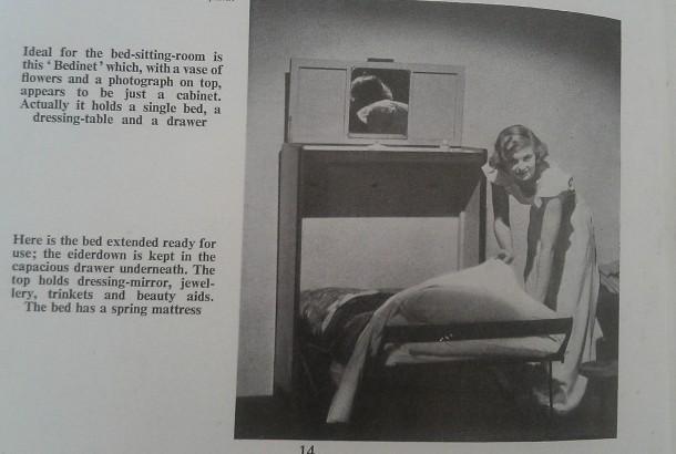 Concealed bed