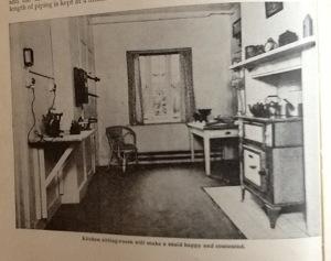 Kitchen sitting room