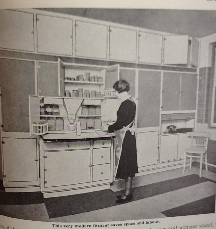 1930s kitchen furniture the auld from reekie for English rose kitchen units