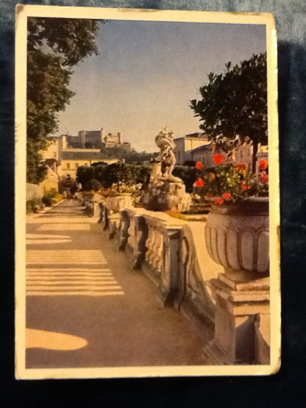 Terrace in Salzburg